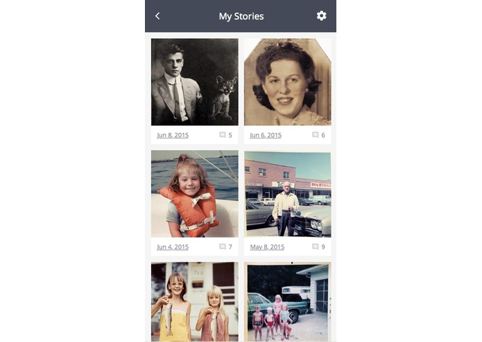 weGather by Save Family Photos – screenshot 5