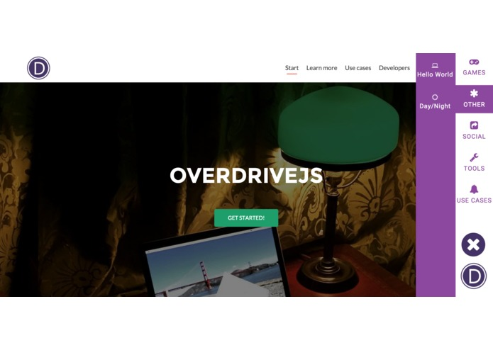 OverDriveJS – screenshot 1