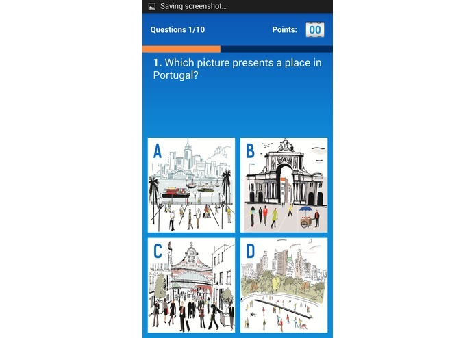Connected quizzes - Europe – screenshot 3