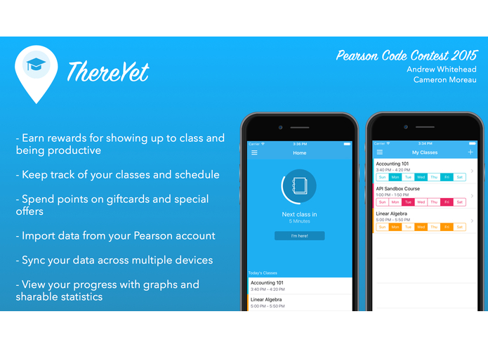 ThereYet – screenshot 1