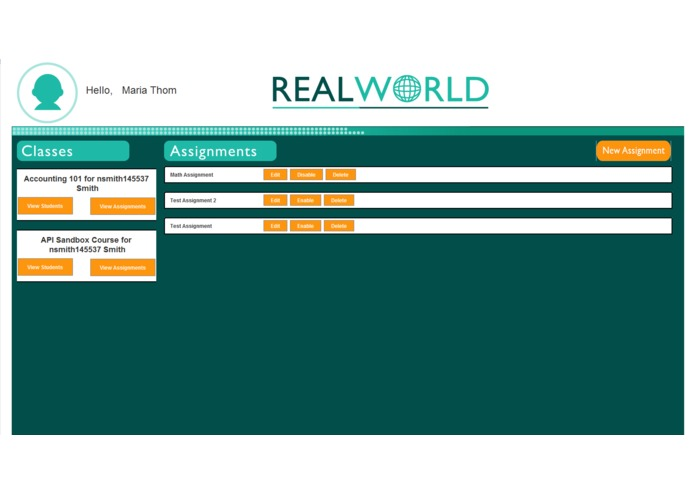 RealWorld – screenshot 2