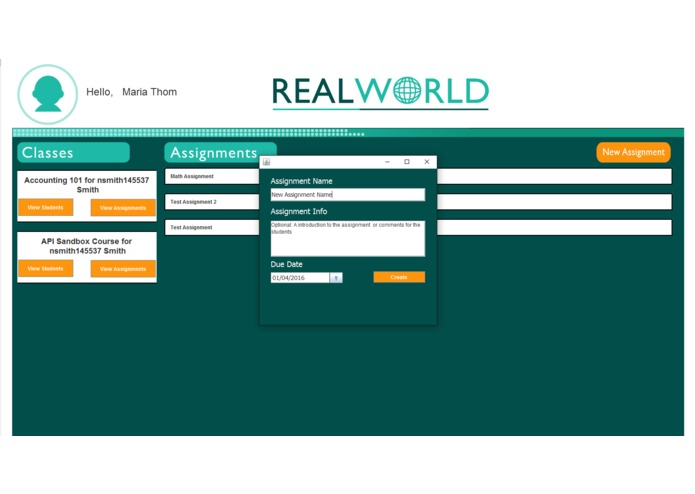 RealWorld – screenshot 4