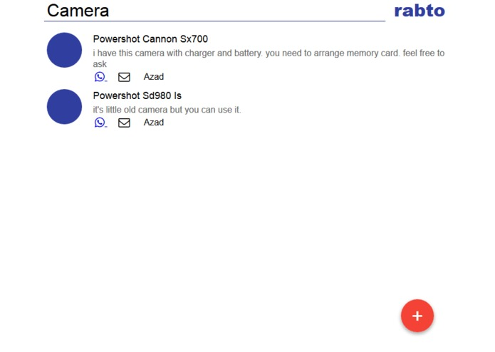 Rabto - share stuff with your friends. – screenshot 1