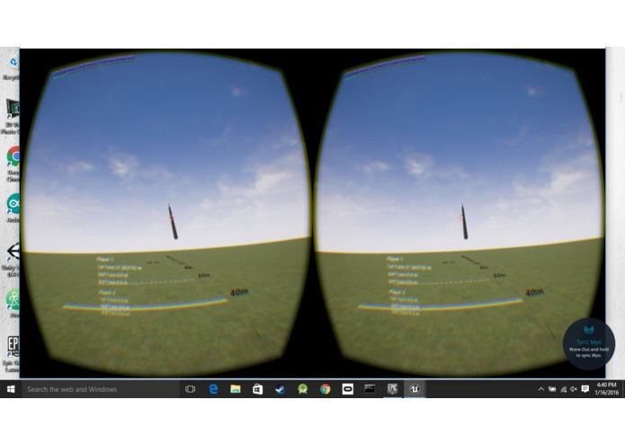 Virtual Reality Javelin Toss – screenshot 2