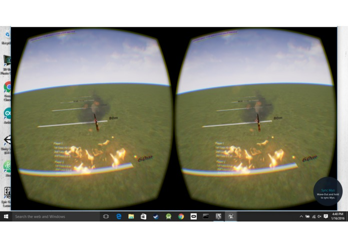Virtual Reality Javelin Toss – screenshot 3