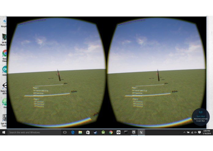 Virtual Reality Javelin Toss – screenshot 6