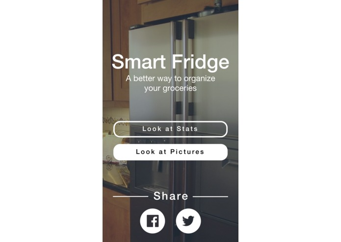 Smart Fridge – screenshot 1