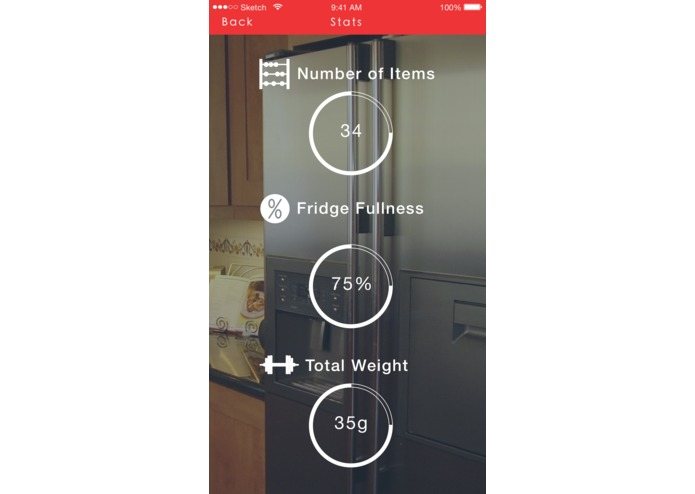 Smart Fridge – screenshot 2