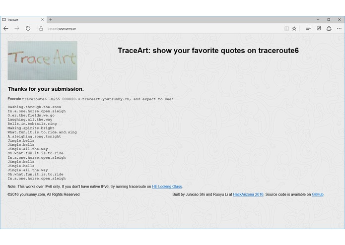 TraceArt – screenshot 2