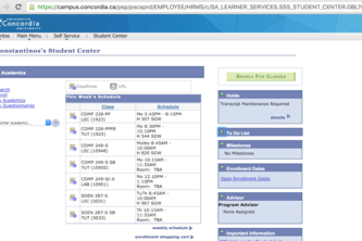 Concordia Schedule to iCal