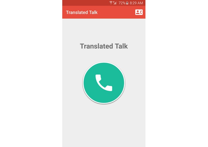 Translated Talk – screenshot 1