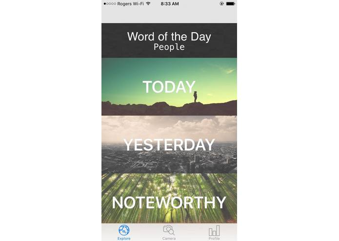OneWord – screenshot 2