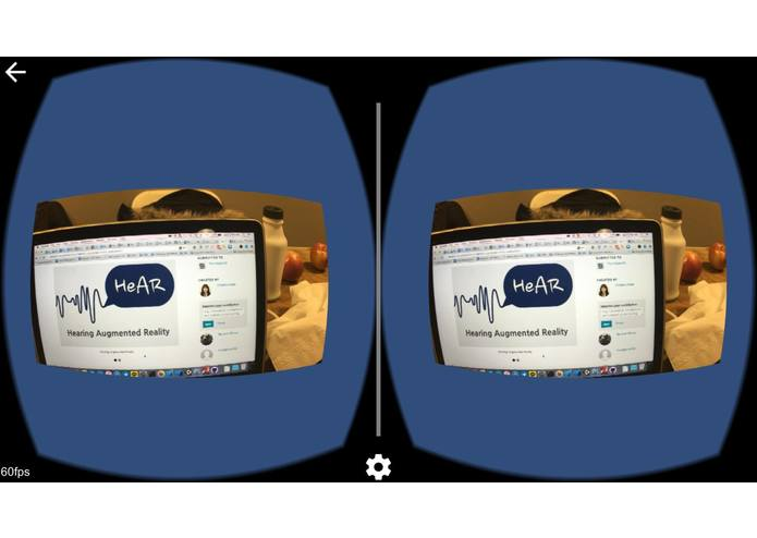 HeAR - Hearing (Augmented Reality) Aid – screenshot 3
