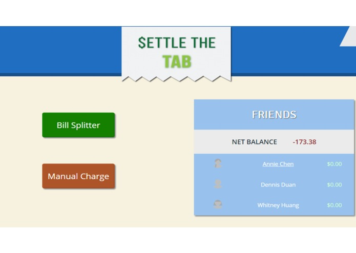 Settle The Tab – screenshot 2