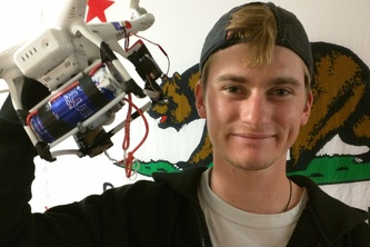 Giving RedBull Wings; Drone Delivery System