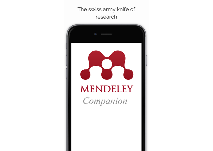 Mendeley Companion – screenshot 1