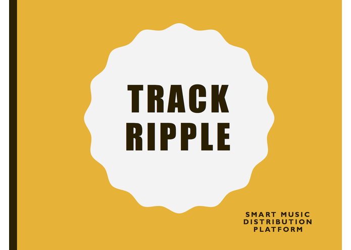 TrackRipple – screenshot 1