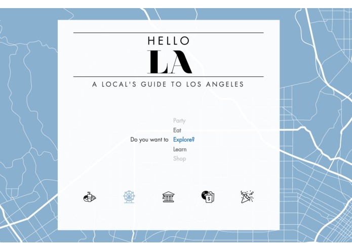 Hello LA – screenshot 1