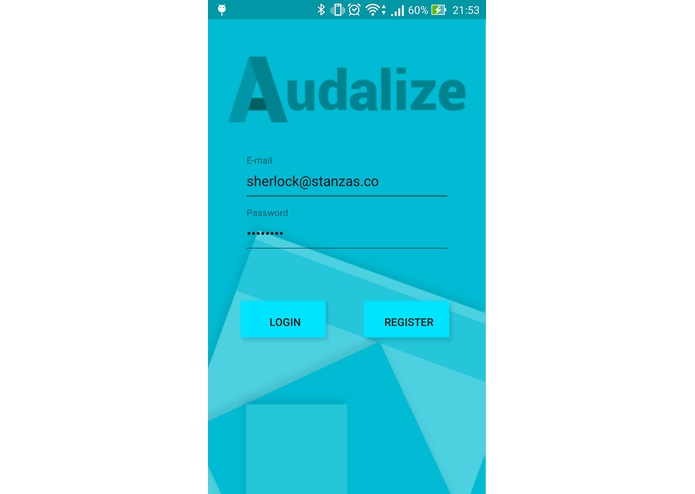 Audalize – screenshot 2
