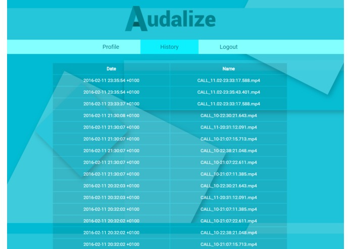 Audalize – screenshot 9