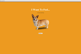 I want to feel