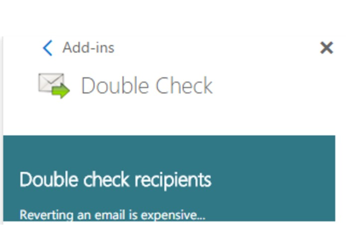 DoubleCheck – screenshot 1
