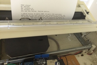 Brother Automated TypeWriter