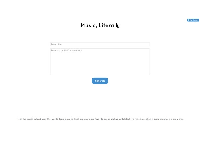Music, Literally – screenshot 1