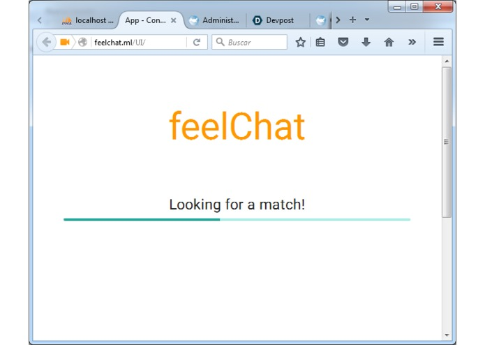 feelChat – screenshot 2