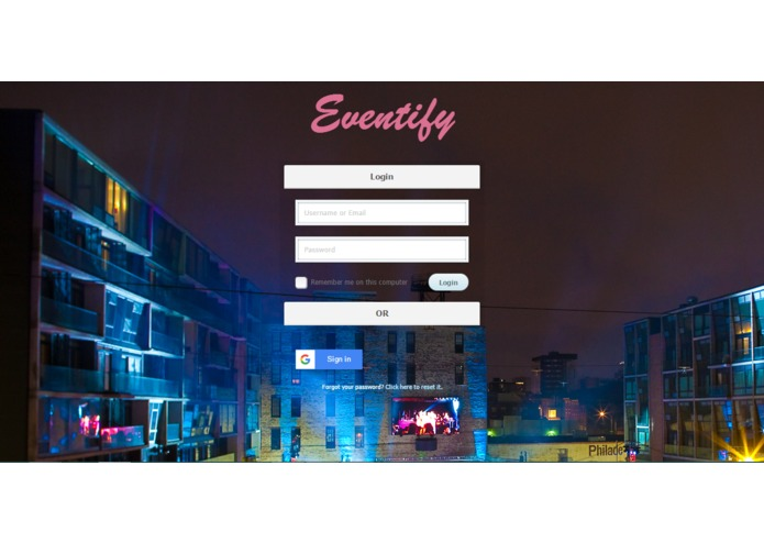 Eventify | Simplify event planning – screenshot 1