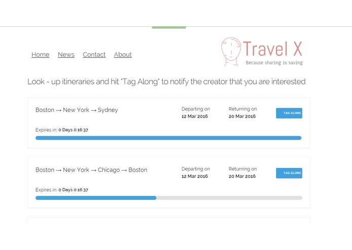 TravelX – screenshot 4