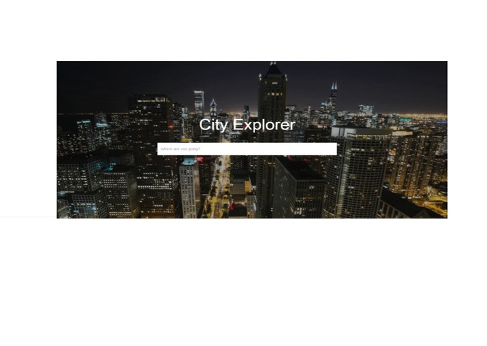 City Explorer – screenshot 1