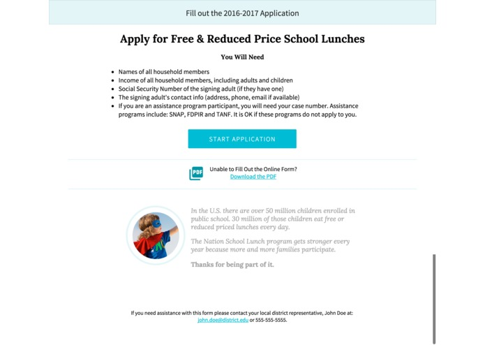 Eat School Lunch Submission – screenshot 6