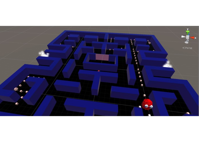 Cardboard Pac-Man – screenshot 3