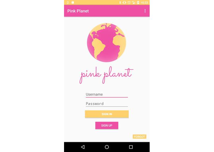 Pink Planet – screenshot 1