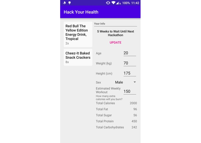 Hack Your Health - Health App for Hackers – screenshot 5
