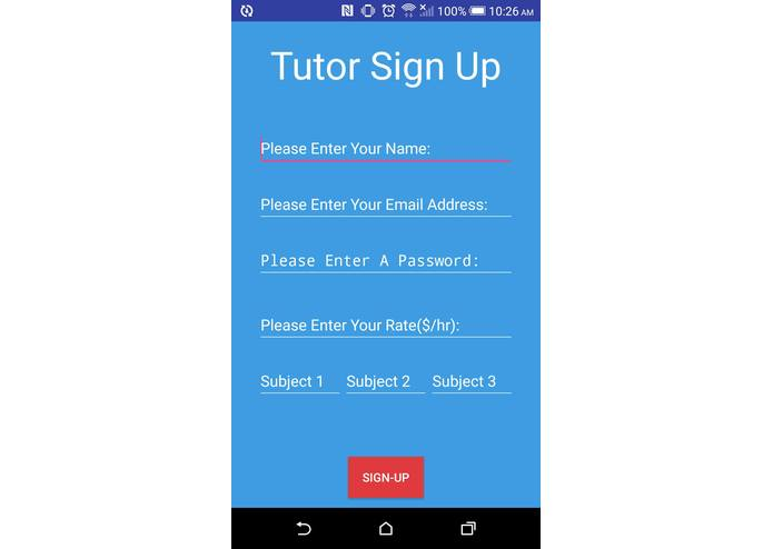 TutorMe – screenshot 3