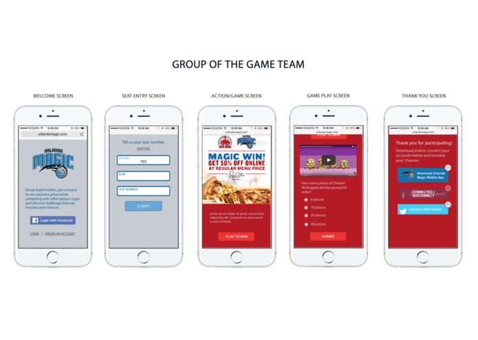 Group of the Game – screenshot 1