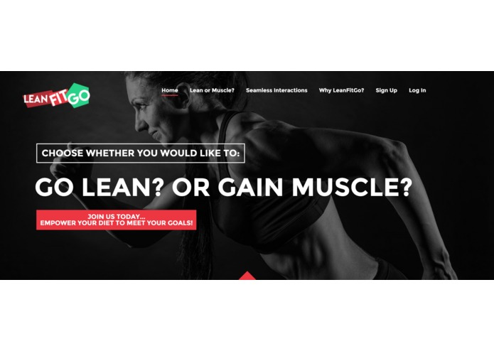 Project LeanFitGO! – screenshot 1