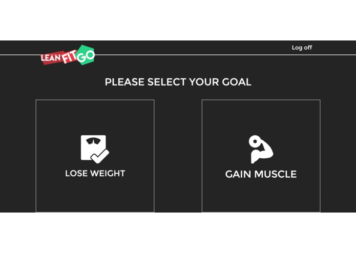 Project LeanFitGO! – screenshot 3