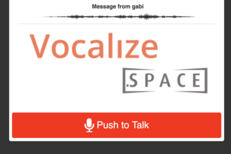 Vocalize Space