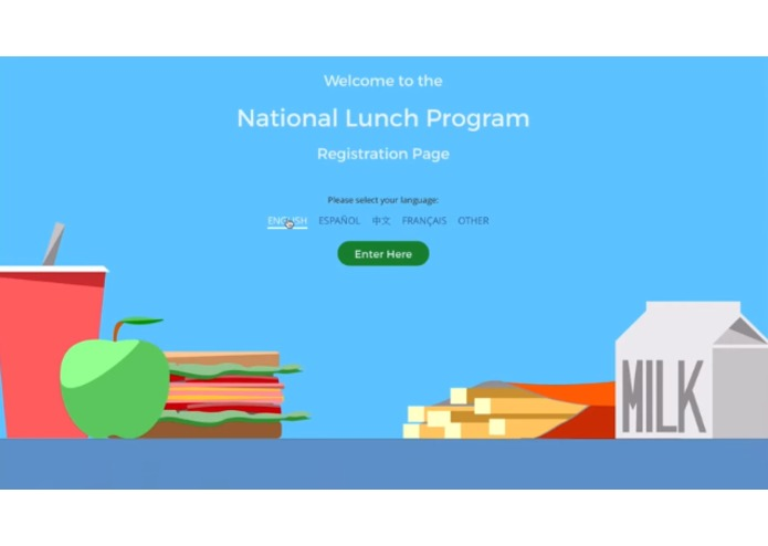E.A.T. School Lunch UX Challenge – screenshot 3
