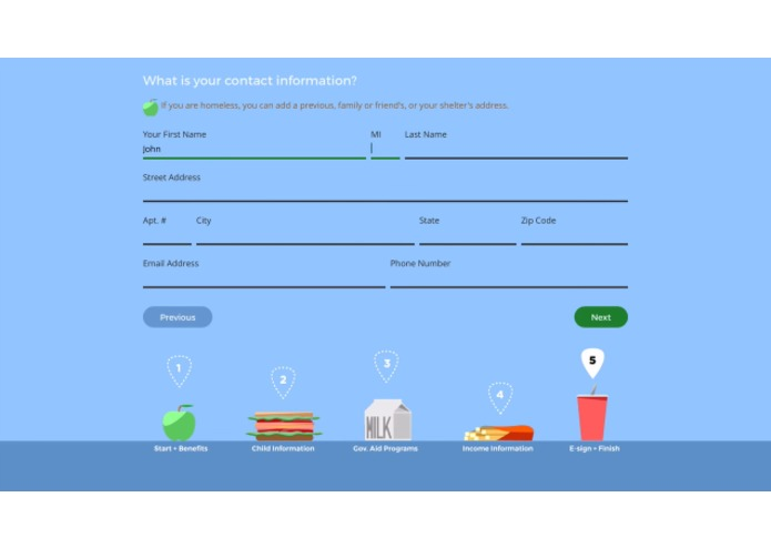 E.A.T. School Lunch UX Challenge – screenshot 6