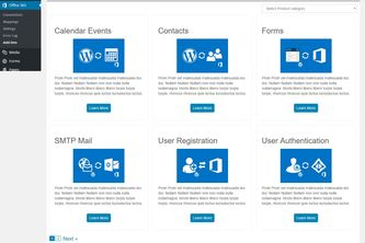 Wordpress to Office 365: Sharepoint, Dynamics CRM