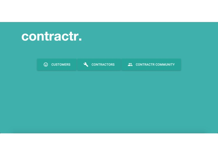 contractr. – screenshot 1