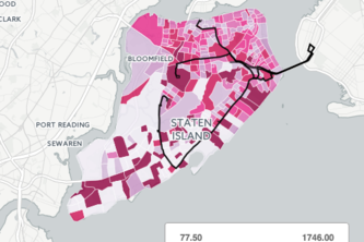 Increase Staten Island - Brooklyn bus efficiency