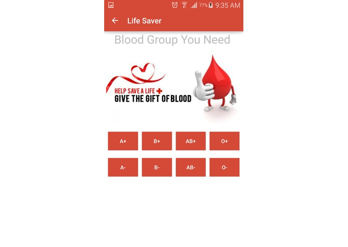 Life Saver App – screenshot 3