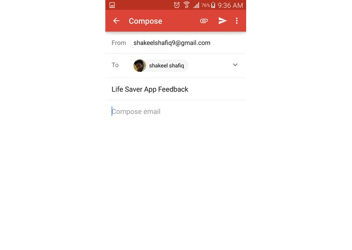 Life Saver App – screenshot 5