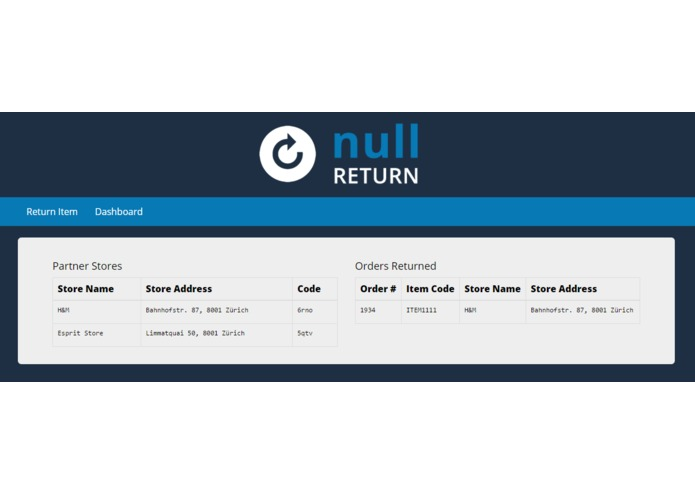 Null Return – screenshot 1