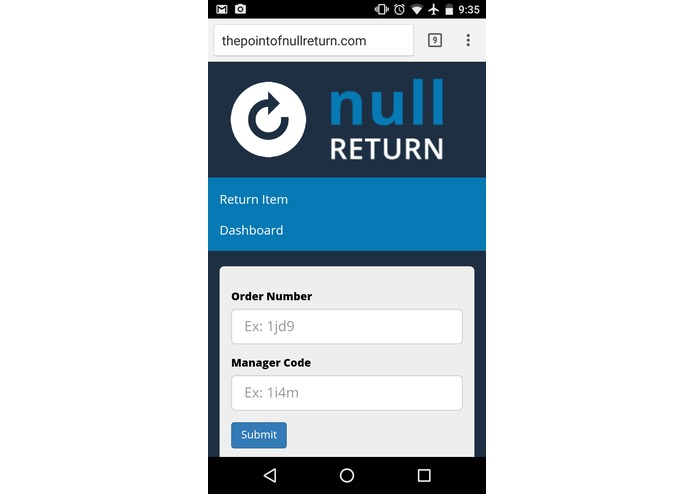 Null Return – screenshot 3